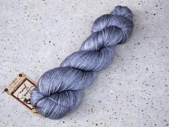 Arya, 50/50 merino silk fingering weight yarn
