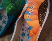 SALE 15% OFF Custom Painted Shoes