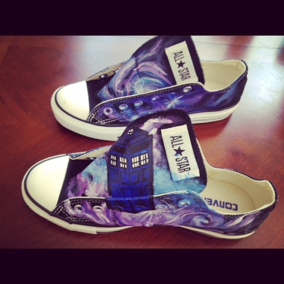 Doctor Who Inspired Custom Shoes