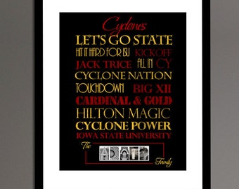 Iowa State Cyclones Print or Canvas