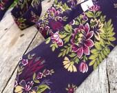 """Designer Tie - """"Edna"""" - Hand Stitched"""