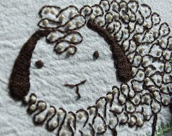 SHEEPLE - Hand Embroidery Pattern PDF