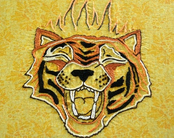 Circus Tiger - DIY Hand Embroidery PDF Pattern