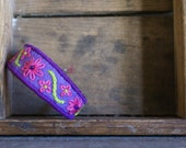 Pink and Purple Felt Baby/Toddler Bracelet