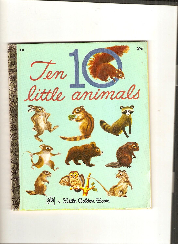 Vtg Little Golden Book Davy Crocket First Edition