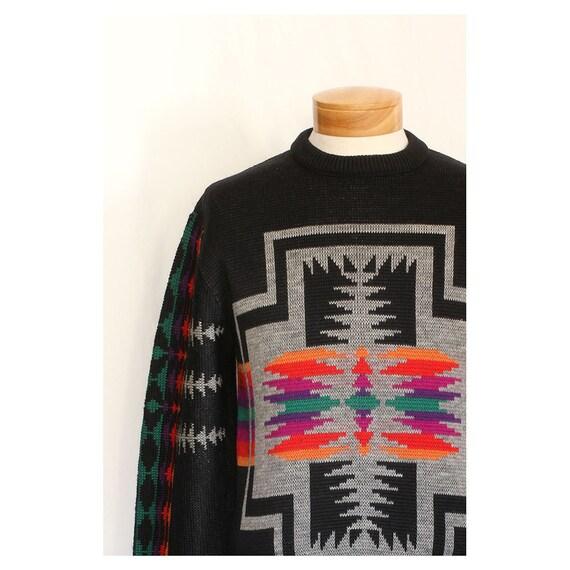 Vintage Pendleton Southwest Mens 70s Ski Sweater