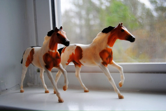 Vintage Breyer Horses, Pair, Instant Collection