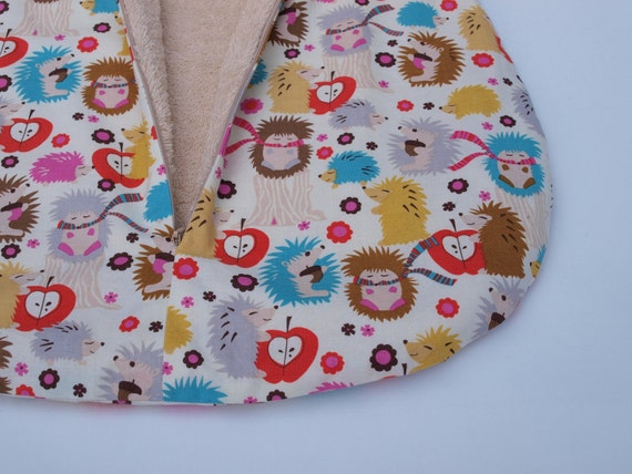 hedgehog sleeping bag