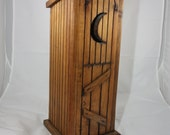 Outhouse, Toilet Paper Holder, Rustic, Primitive