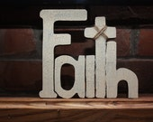 FAITH wall hanging (Large)
