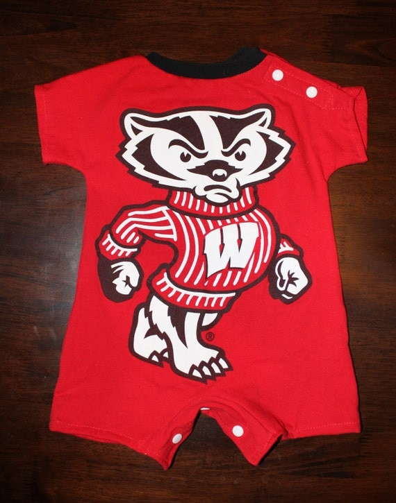 Baby Romper from Wisconsin Badgers T-Shirt