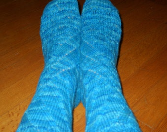 """The """"Mighty Waves"""" Socks, Made to Order"""