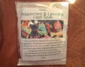 Peppermint Lavender Soothing Foot Soak