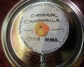 Oatmeal Chamomile Clay mask