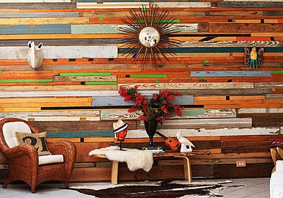 Amazing Custom Reclaimed Wood Wall Installations