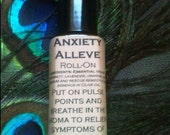 Anxiety Alleve Roll-On in 1/4oz roll-on glass bottle