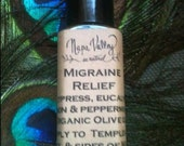 Migraine Relief Roll-On in 1/4 oz. glass bottle