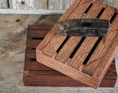 Small - Red Oak Box // Tiny Crate