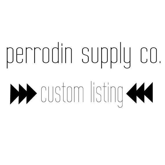 Custom listing for ShannMitchel