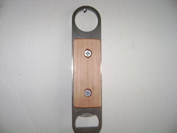 Bottle Opener with wood handle