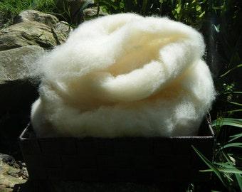 East Fresian wool roving - 4 ounces