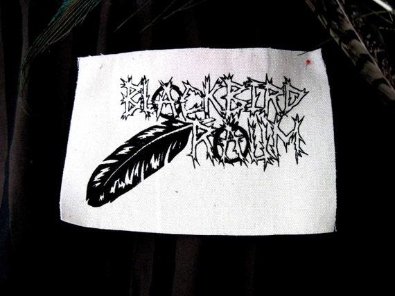 Blackbird Raum Patches Folk Punk Crust
