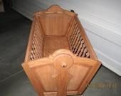 Solid Hardwood Baby Cradle