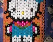 Hello Kitty PLUR Raver Glow in the Dark Kandi Cuff
