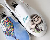 Custom Painted Shoes Reserved for April