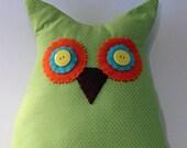 Lollipop Hoot Owl Pillow 9
