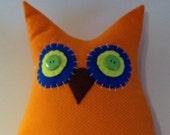 Lollipop Hoot Owl Pillow 17