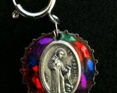 St. Francis of Assisi Pet Charm To Protect Your Favorite Cat or Dog - Free Shipping