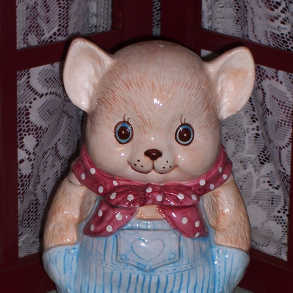 JUST REDUCED Enesco Country Mouse Cookie Jar