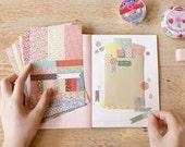 8 sheets Korea Masking tape Petit deco sticker set - flora