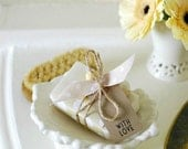 Unscented Shea Butter Organic Soap // Gift Wraped