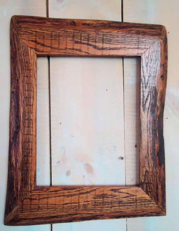 rustic wood frames