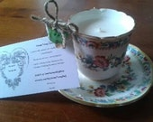 Vintage Soy Wax Teacup Candle - perfect for weddings, tea parties, birthdays etc
