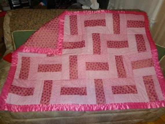Rail Fence Baby Quilts