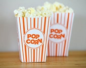 Choose Your Color - Mini Popcorn Box Party Favor Printable  - DIY Make Your Own Party Pop Corn Box by daintzy