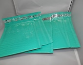100 Padded Teal Poly Bubble Mailers Mailing Envelopes   Self Adhesive  Envelopes size 0 6x9 size