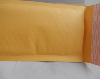 lot 45 4x8 Kraft, self seal padded envelope, cushioned mailers,  bubble mailers