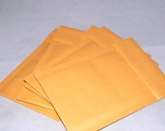 Qty-100 4x8  Kraft Bubble Mailer Self Seal Envelopes size 000