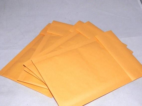 Qty-100 4x8  Kraft Bubble Mailer Self Seal Envelopes size 000