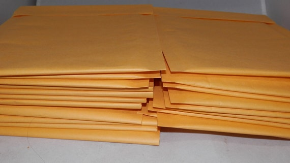 20 Kraft 6 x 9  Envelope Bubble Mailers   size 00 (6 x 9.5 usable space) Padded Bubble Self Sealing Envelopes