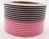 Japanese Stripes Pattern Washi Tape -15mm