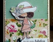 Simply Fabulous - Handmade Greeting Card