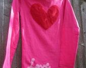Big Love Valentines Heart  T shirt