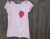 Up In The Sky Bunny Kids T shirt