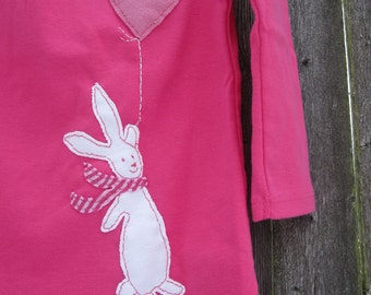 Up In The Sky Bunny Kids T shirt Easter