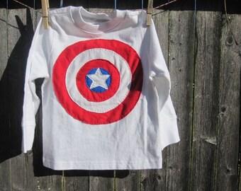 Favorite Superhero In Training Little Sidekick Toddler T shirt Captain America